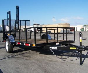 6′ x 12′ Open Suncoast Trailer