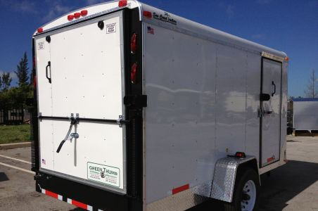 "6' x 12' x 6'2"" Enclosed Suncoast Trailer"