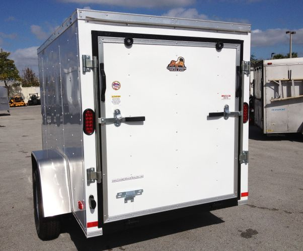 "5′ x 8′ x 60"" Covered Wagon Trailer"