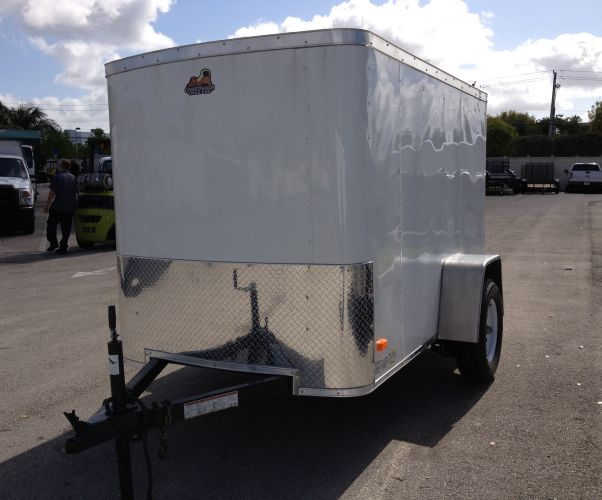 5′ x 8′ Covered Wagon Trailer