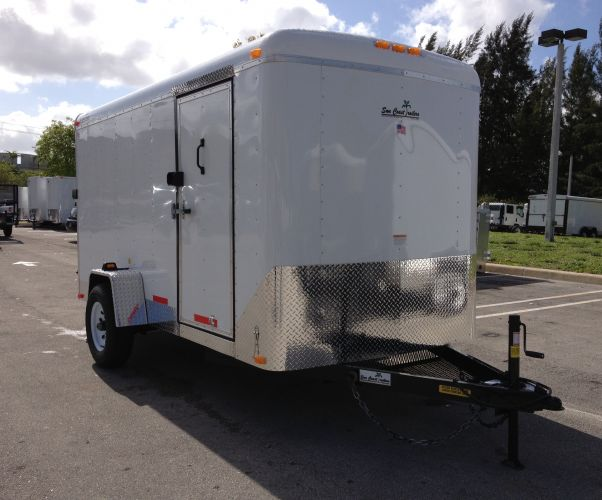"6′ x 12′ x 6'2"" Enclosed Suncoast Trailer"