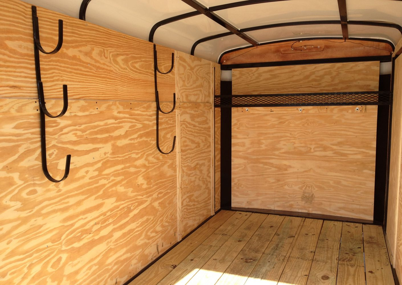 Interior Set-up of a Suncoast Trailer