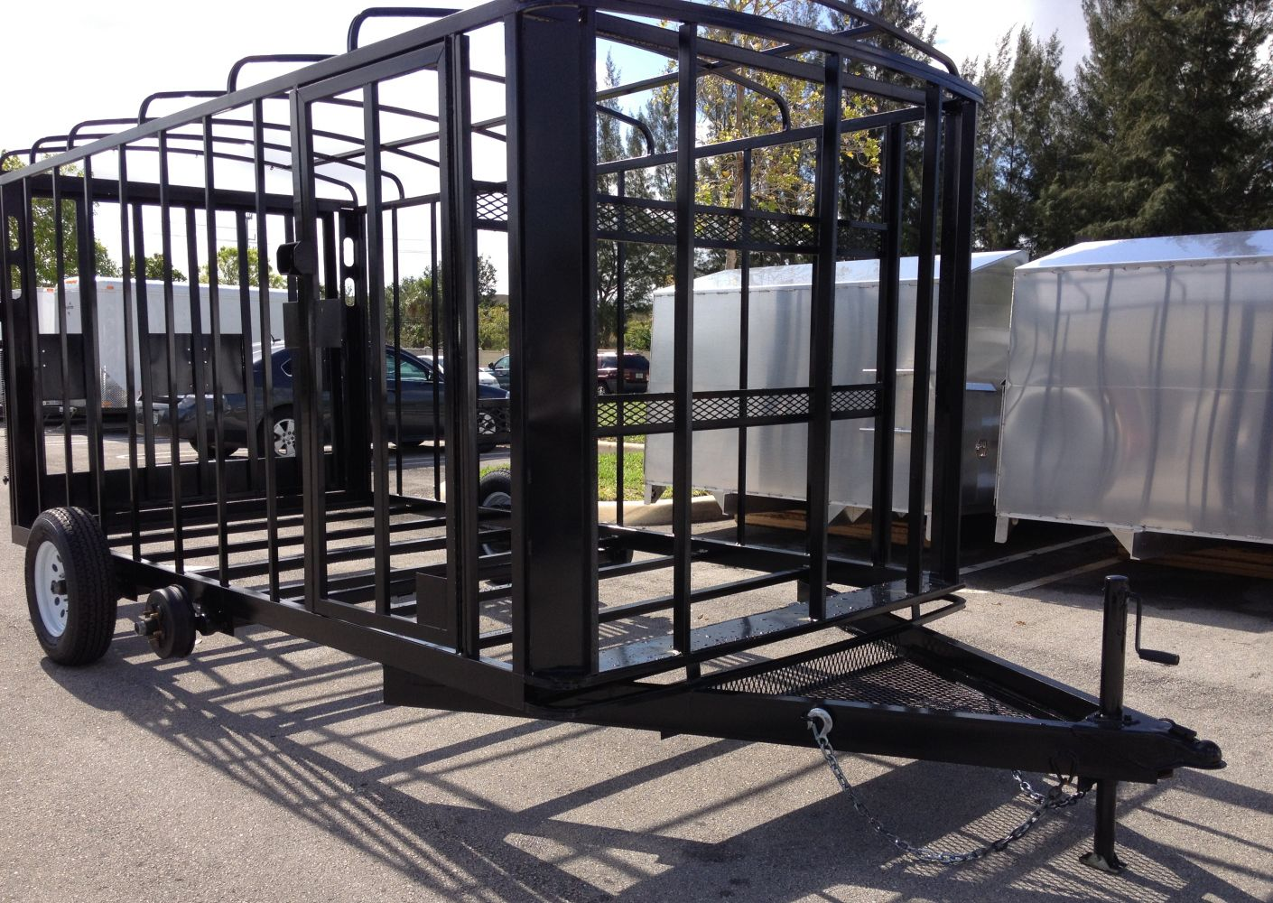 Enclosed Trailer Frame | Sun Coast Trailers