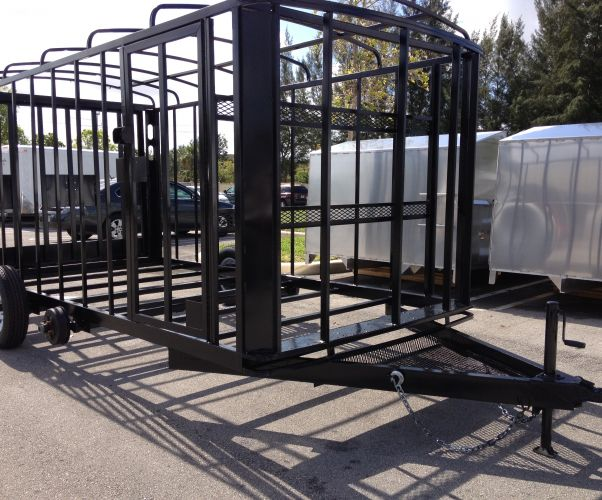 Enclosed Trailer Frame