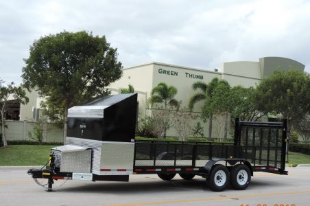 80′ x 22′ Suncoast Super HD Landscape Trailer