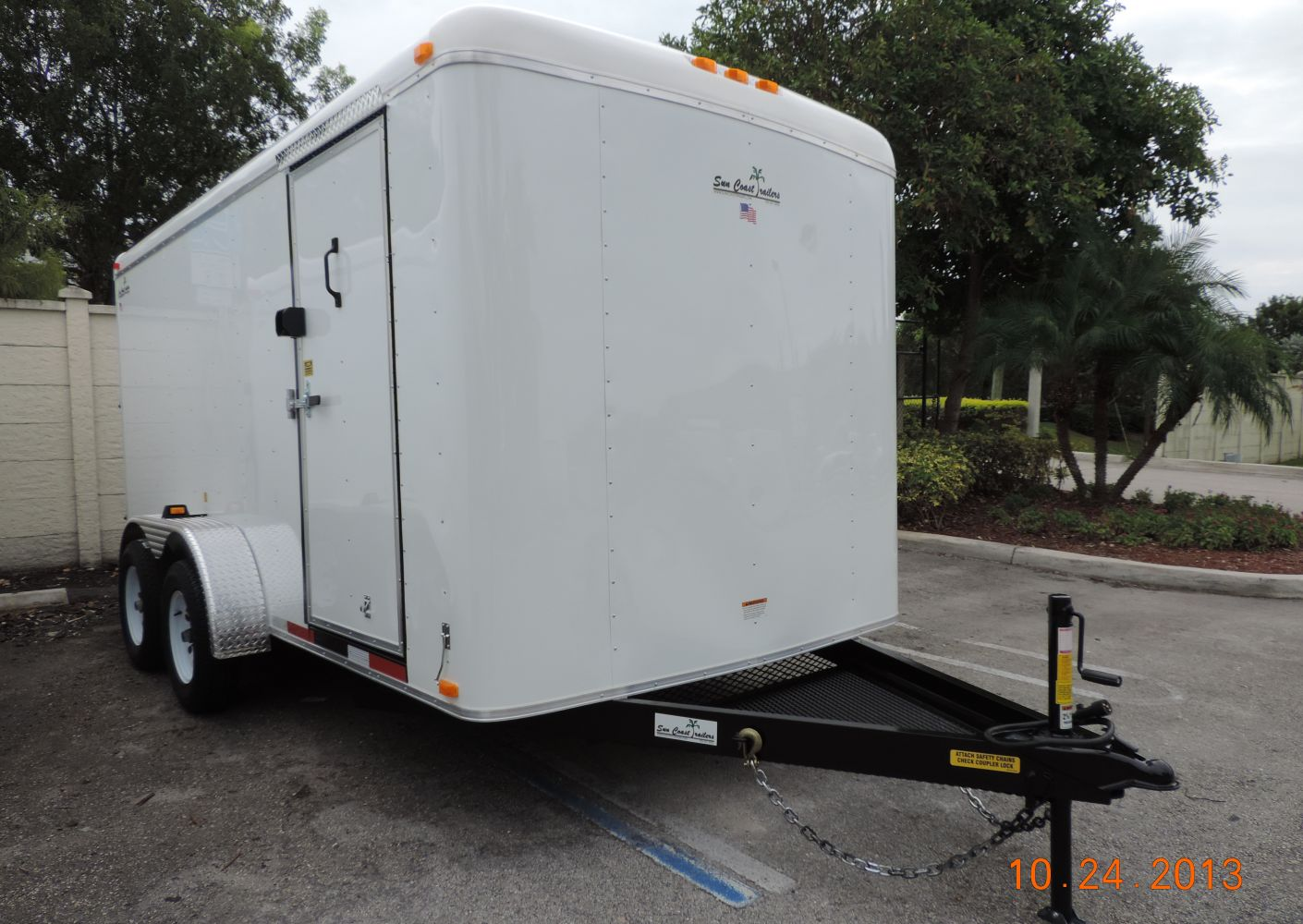 7′ x 16′ x 6'5″ Enclosed Suncoast Trailer