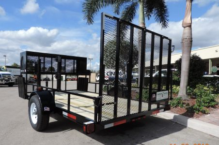 12′ Open Trailer – Small Package w/ Big Options