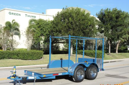 12′ Pressure Cleaning Trailer