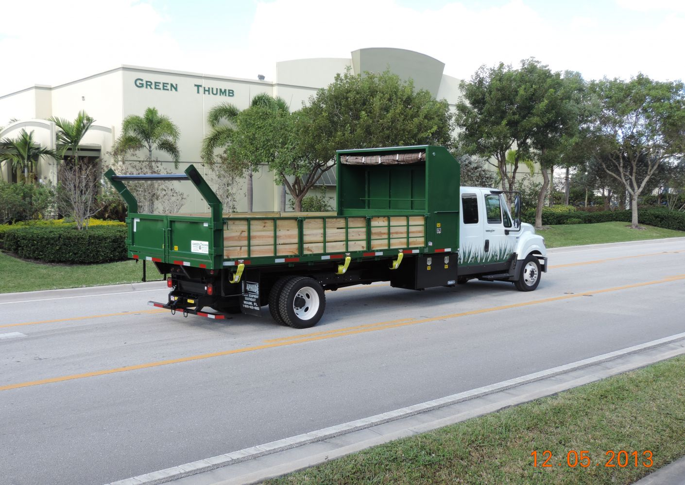 HD 18′ Steel Landscaping / Dump Body w/ all the options