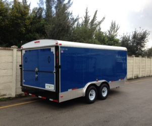 8′ x 16′ x 6'5″ Enclosed Suncoast Trailer